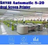Le Coréen 10 Color 36 Station écran ovale Machine d'impression