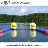海または湖のイベントの使用の管の膨脹可能な警告のマーカーのブイ