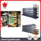 ハイパースーパーマーケットの小売店の金属の棚付けラック