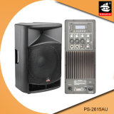 15 Spreker pS-2615au van de FM van de duim USB BR de Plastic Actieve 200W