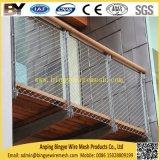 Трос из нержавеющей стали с обжимным кольцом гибкий кабель X-обычно лестницы балкон Balustrade мост сетка