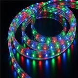 110V color cambiante de la cuerda de LED RGB de la luz de 3,24W/M de la luz de la calle
