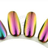 Camaleón espejo brillante magnífico Nail Art pigmento cromo