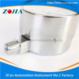 Manómetro de la cápsula del acero inoxidable de la alta calidad