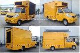 petit camion de la publicité extérieure de 3t Foton avec l'écran de HD DEL