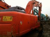 Máquina escavadora original usada da esteira rolante de Japão Hitachi Zx200 para a venda