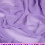 Tessuto chiffon 100% del poliestere fatto di 50d/75D/100d