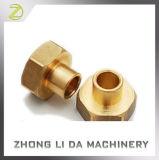 A peça de metal do eixo de latão Precision Usinagem CNC Links Neutro de Latão