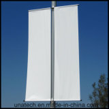 Luz de rua de aço inoxidável pólo bandeira Publicidade Kit (BT023)