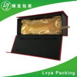 돋을새김 최신 포일 마분지 종이 적포도주 포장 선물 상자