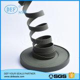 Guía de la cinta de PTFE relleno de carbón/Banda de desgaste