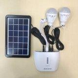 Портативная миниая солнечная электрическая система с батареей лития 7.4V2.2ah