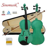 BV/SGSの証明書の製造者のSinomusikカラー始動機の合板の初心者のバイオリン