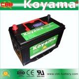 almacenaje Batetry del coche de 105D31L-Mf 12V 90ah frecuencia intermedia