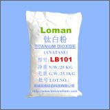 El buen producto químico de Loman de la marca de fábrica, fábrica blanca del pigmento de la potencia TiO2 de la pureza elevada