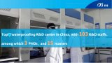 Membrane imperméable à l'eau de PVC de matériau de construction d'Aquaprufe
