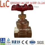Válvula de Gaveta de latão Bronze