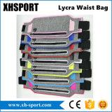 Sacchetto di sport riflettente sottile eccellente di Lycra pacchetto funzionanti/pareggianti della vita della cinghia/