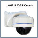 cámaras de seguridad al aire libre del CCTV del IR de la red del IP de 1.0MP Poe