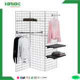 4 Side Pegboard Counts Stand Display Rack
