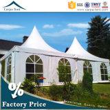 4X4mの屋外のおおいのガラスドアが付いているキャンプの望楼党テント