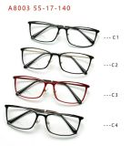 재고 플라스틱 강철 형식 최신 판매 신식 가벼운 안경알 Eyewear 광학 프레임 가관에서