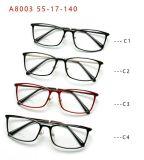Em estoque de aço de plástico quente moda vendendo óculos óculos de luz do estilo novo espectáculo de Quadros Óptico