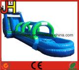 Resbalón inflable gigante N y diapositiva para la venta