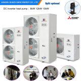 L'eau chaude du chauffage Room+55c de radiateur de l'hiver de la Suède Automatique-Dégivrent le Heatpump Monobloc 36kw d'Evi de source d'air 12kw/19kw/35kw/70kw