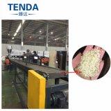 PVAの自由な方式の指導を用いるプラスチック微粒の押出機の造粒機