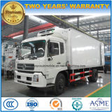 Dongfeng Van refrigerado 4X2 8 toneladas de carro del refrigerador