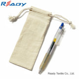 2017 New Design Knitting machine Drawstring Pouch for Gift gold PEN