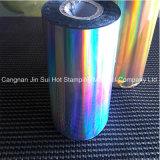 Láminas para gofrar calientes del laser de la hoja olográfica para el material de papel de la impresión