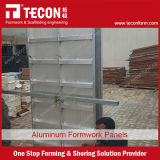 Molde concreto de alumínio de China para a parede e a laje