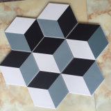 Плитки украшения стены и пола фарфора цвета 200X230X115mm регулярно формы шестиугольная смешанная 3 керамических для штольни (SM2333)