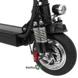 Rad 3, das elektrisches Motorrad faltet
