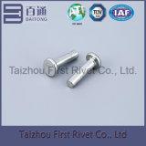4X16mmの白亜鉛カラー平らなヘッド固体鋼鉄リベット