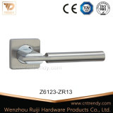 Wing Design Security Door Rising Handle with Lock Cover (Z6109-ZR09)