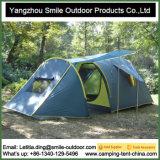 Piscina de dupla camada impermeável 6 Pessoa Camping tenda familiar