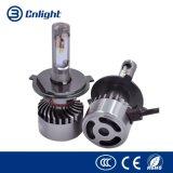 Cnlight M2- Hi/Lo H4 H7 Auto-Scheinwerfer-Lampen-Abwechslungs-Birne der Qualitäts-Philips-Paar-6000K 7000lm LED