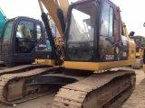 使用された猫のクローラー掘削機323D2の幼虫の掘削機