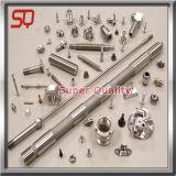 CNCアルミニウム鋼鉄真鍮亜鉛金属によって機械で造られる部品