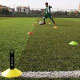 フットボールのサッカーディスク円錐形は敏捷のトレーニングのためにセットした