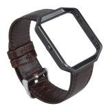 Cinghia di cuoio pazzesca del cavallo di vendita calda per il cinturino della fiammata di Fitbit, Wristband per la fiammata di Fitbit