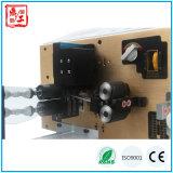Машина полноавтоматической проводки обрабатывая для провода обнажая и переплетая