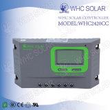 Contrôleur solaire de PWM 12V 24V 20A pour le système solaire