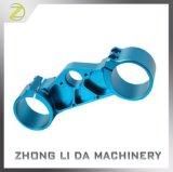 Blaue anodisierte Präzision, die Teile CNC-Spart maschinell bearbeitet