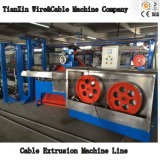 Hochgeschwindigkeitssystemtest-schäumende Koaxialkabel-Strangpresßling Wireproduction Maschine