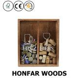 단단한 나무 메달 Torage 상자 섀도 박스 프레임
