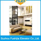Ascensore per persone lussuoso di capienza 1000kg di Fushijia con il pavimento di marmo